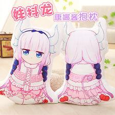 Miss Kobayashi's Dragon Maid Plush Kanna Doll Soft Kamui Pillow Cushion New Toy