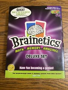 Brainetics Deluxe Set - Opened Box Math & Memory System - D18