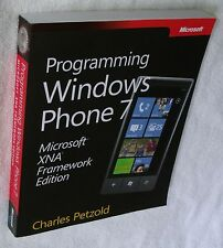 "New 'Programming Windows Phone 7 - Microsoft XNA Framework Edition"" Manual Book"