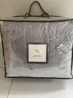 New M&S Grey Bedspread 200cm X 220cm RRP £119.00