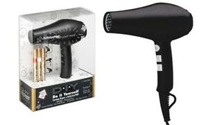 NEW BABYLISS PRO CERAMIX DIY CUSTOM 1900 WATT PROFESSIONAL HAIR DRYER BLACK