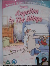 Angelina Ballerina - In The Wings (DVD 2013) New Sealed PAL Region 2