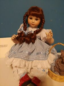 """Marie Osmond Wizard Of Oz Baby Dorothy 15"""" Fine Porcelain Collector Doll"""