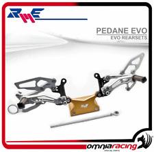 Pedane EVO arretrate Ergal Robby Moto Triumph Street Triple/ Daytona 2006>2010