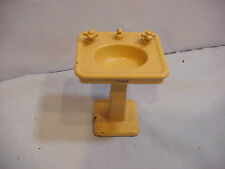 Sink  Arcade Cast Iron  Antique Toy Doll House Furniture Bathroom