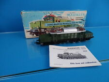 Marklin 3052 ÖBB Electric Locomotive Br 1020 Green HAMO Modell OVP
