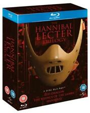 The Hannibal Lecter Trilogy (Box Set) [Blu-ray]