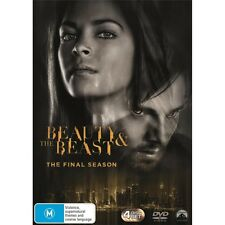 BEAUTY AND THE BEAST-Season 4-Region 4-New AND Sealed-4 Disc Set-TV Series