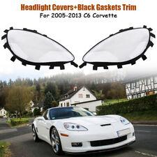 Für Chevrolet Corvette C6 Scheinwerfer Linse Scheinwerferglas Dichtring Dichtung