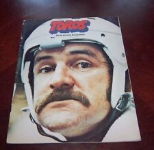 Toronto Toros WHA Game Program March 7 1975 Vs Quebec Nordiques