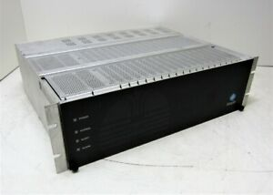 Intraplex Chassis w/ 18 Slots & 2 P/S Slots & Misc. Modules