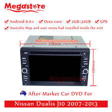 "6.2"" Octa Core Android 6.0 Car DVD GPS Player For Nissan Dualis J10 2007-2013"