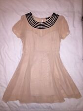 Topshop Dress Modern Victorian style UK 12