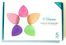 O'vinna 5-Pack Makeup Sponge Powder Puff Sponge Support Display Stand Latex-Free