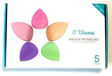 O'vinna 5-Pack Makeup Sponge Powder Puff Sponge Support Display Stand Latex-Free