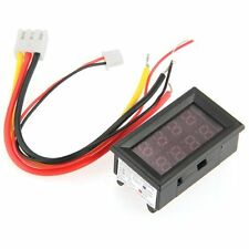 Voltmeter Amperemeter Digital LED Multimeter Voltanzeige Panelmeter 0-100V L7G5