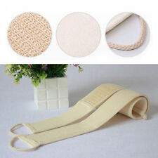 1X Exfoliating Loofah Back Strap Shower Body Scrubber Wash Sponge Massage Brush