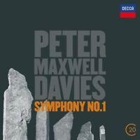 RATTLE/POL/MAXWELL DAVIES/+ - SINFONIE 1  CD NEW+ MAXWELL DAVIES,PETER