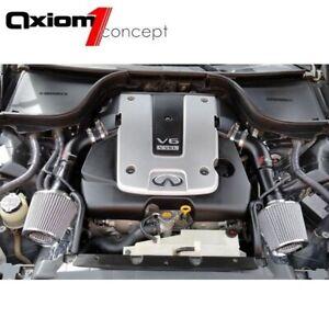AF DYNAMIC AIR INTAKE KIT FOR 2014 2015 INFINITI Q50 3.7L 3.7 V6 HEATSHIELD