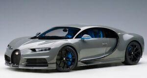 AUTOart 12114 1:12 Bugatti Chiron 2017 Gray model cars