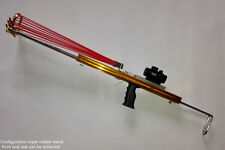 Super Hunting Catapult Rifle slingshot gun Before after telescopic - mongol bow