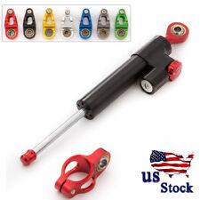 CNC Steering Damper Stabilizer Safety Control GSXR600/750 GSR750 (K4) 01-05 USA