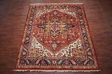 11X13 Persian Heriz Serapi Hand-Knotted Wool Oriental Area Rug Carpet *10.6 x 13
