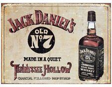 Jack Daniels Tin Metal Sign Whiskey Retro Vintage Advertising Bar Home Decor New