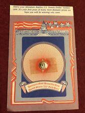 "Miniature US Twenty-Dollar ""Golden"" Coin 24K Plated"