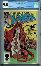 UNCANNY X-MEN 187 CGC 9.8 WP FORGE DIRE WRAITHS MARVEL 1984