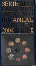 Coffret BU Portugal 2004 Tirage 50000 Exemplaires 8 pièces 1 ct à 2 euro