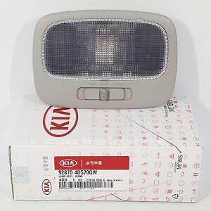 928704D570QW Interior Overhead Room Lamp Gray For KIA SEDONA 2006-2014