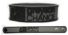 GREYSON CHANCE Rubber Bracelet Wristband Hold On 'til the Night