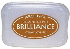 BRILLIANCE Archival Pigment Ink Pad - COSMIC COPPER