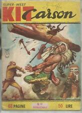 KIT CARSON  SUPER-WEST NUMERO 49 ED. DARDO 1965