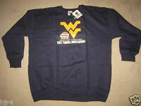 West Virginia Mountaineers 2008 Fiesta Bowl Football Sweatshirt M Medium NEW