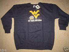 West Virginia Mountaineers 2008 Fiesta Bowl Football Sweatshirt M Medium NEW