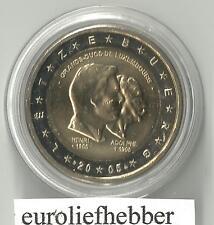 Luxemburg     2 Euro Commemorative 2005  Henri & Adolphe  in  CAPSULE