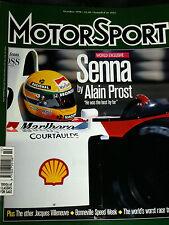 AYRTON SENNA ALAIN PROST MCLAREN MP4 MONACO GP 1984 1993 FORMULA 3 FORD LOTUS