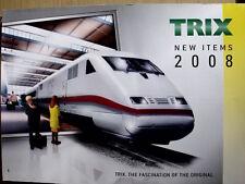 Catalogo TRIX 2008 in scala H0 - ENG - Tr.13