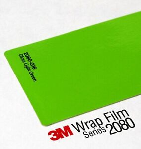 3M Wrap Film Series 2080 G16 Gloss Light Green  1524mm x 2000mm