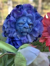 """ALICE IN WONDERLAND TALKING FLOWERS /""""ORANGE SWEET PEAS/""""  by SUTHERLAND"""