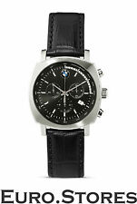 Genuine Leather Strap Rectangle Watches with Date Indicator