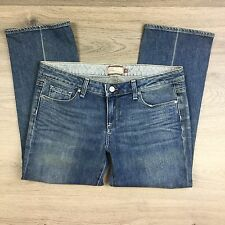 Paige Laurel Canyon Crop Women's Jeans Size 31 NWOT Fit W34 L24.5 (S19)
