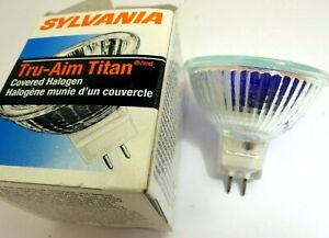 Sylvania Tru-Aim Titan 20MR16 20W 35/Fl GU5.3 Light Bulb Halogen covered 12V