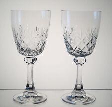 "TRADITION SPIEGELAU aka CANTERBURY BELKRAFT Wine Glasses 6 3/8"" PAIR"