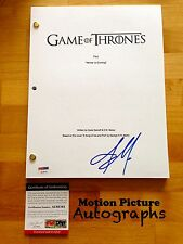 JASON MOMOA SIGNED GAME OF THRONES FULL PILOT SCRIPT 62 PAGES PSA DNA COA