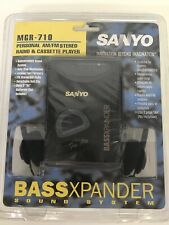 Sanyo MGR-710 Personal AM/FM Stereo Radio and Cassette Player Walkman