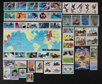 US 1992 Commemorative Year Set 107 diff stamps w/WWII Sheet & Wildflowers MNH.