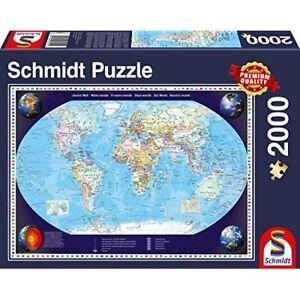 Historical World Map 2000 Piece Schmidt Jigsaw Puzzle NEW